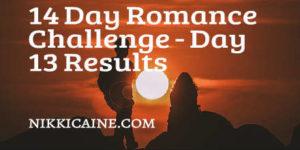 Romance Challenge Day 13