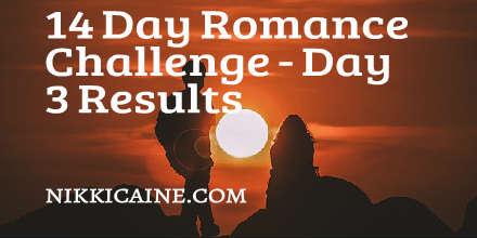 Romance Challenge - Day 3